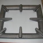 KG-PL1, griglia smaltata, ghisa, 4Kg